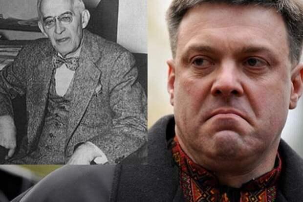 Тягнибок в день 30-летия Украины похвалился прадедом-убийцей