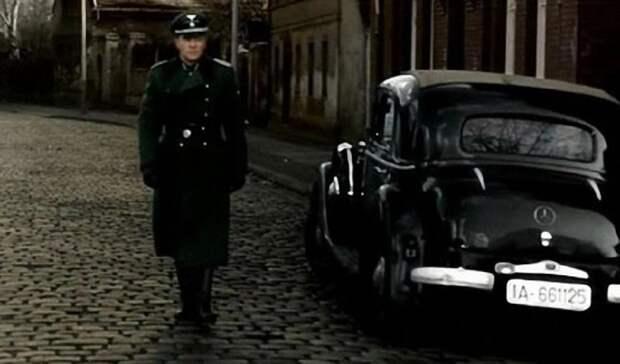 Mercedes-Benz 230 из фильма «17 мгновений весны» СССР, авто, автомобили, дом кино, кинематограф, кино, подборка, фильм