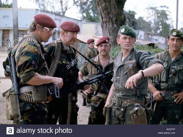 Боевые операции Иностранного легиона во второй половине XX века - 1 часть