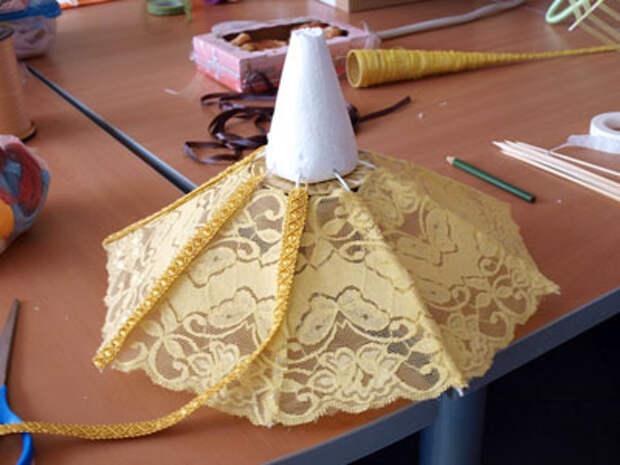 Мастер-класс по летнему конфетному зонтику