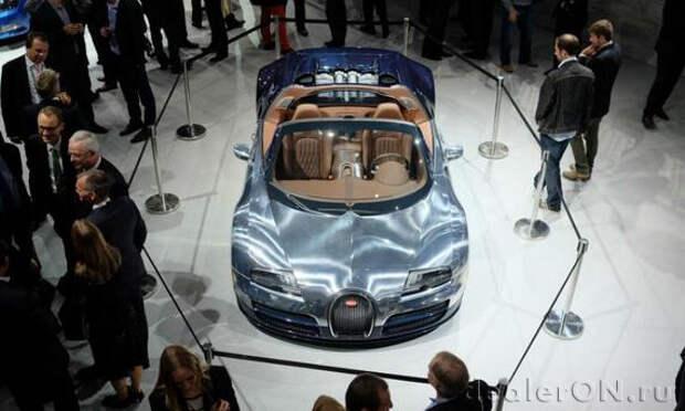 Bugatti защищен от проекта сокращения расходов VW так как работает над преемником Veyron