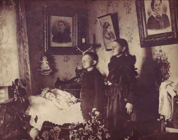 Посмертная фотография