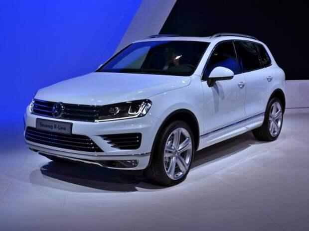 Volkswagen Touareg стал еще гламурнее