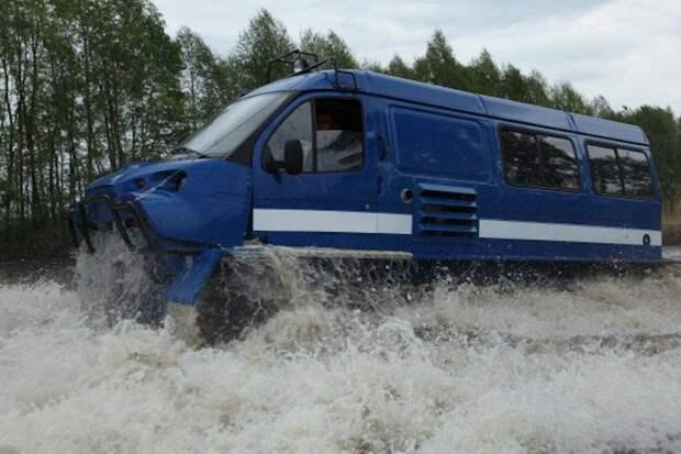 ГАЗ-34039 — первый гусеничный снегоболотоход советского происхождения