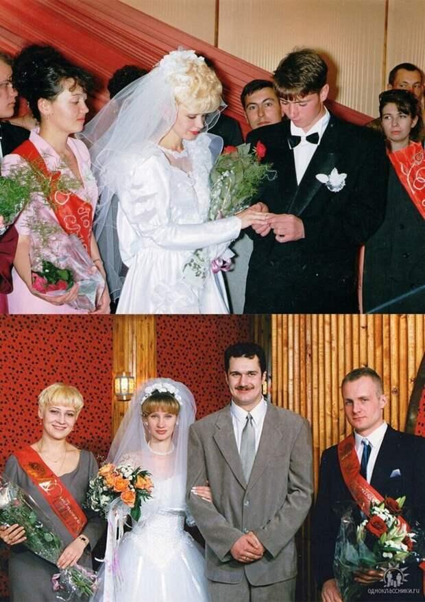 Ах, эта свадьба… в 90-х!