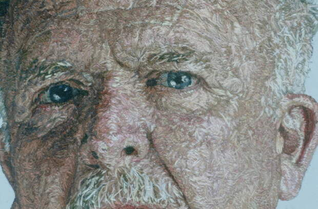 "Detail of ""Dad"""