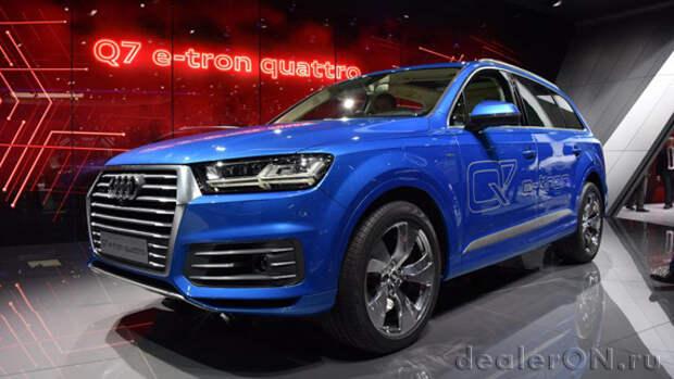 Audi предложит Q7 как дизельный или бензиновый плагин гибрид