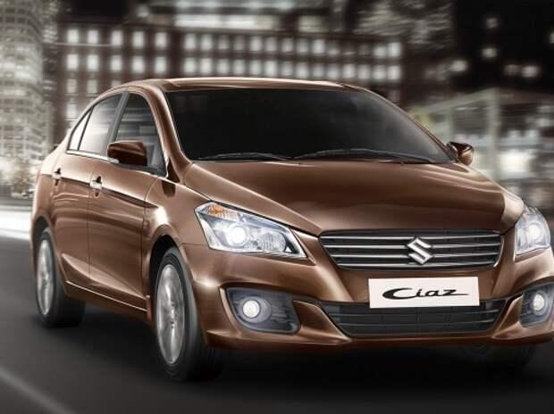 Suzuki привезет в Россию новый седан в конце 2016 года