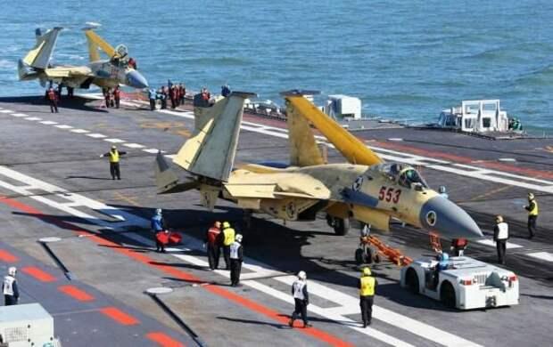 ВМС Китая оснащены советскими авианосцами, самолеты на них тоже советские, а вот двигатели для них уже российские, причем не по лицензии - скопировать их невозможно, придется только покупать все новые и новые