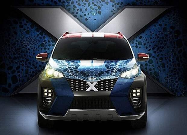 Kia Sportage превратится в X-Car