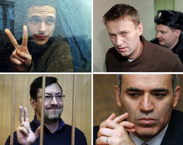 Навальному, Каспарову, Яшину и Поткину грозит уголовное дело за связи с казахской оппозицией