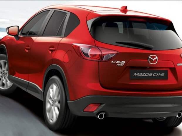 Mazda CX-5 в октябре вновь вошла в Топ-25 самых продаваемых моделей