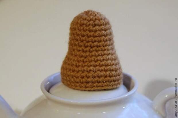 грелка на чайник ежик