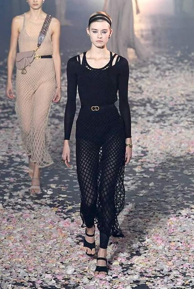Блейк Лайвли, Ольга Куриленко, Полин Дюкре и другие на показе Dior в Париже