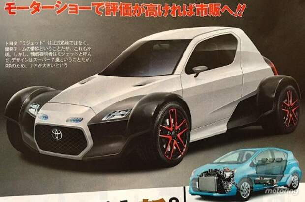 Концепт Toyota Midget