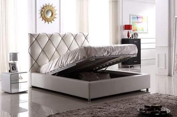 Современные кровати имеет разный дизайн