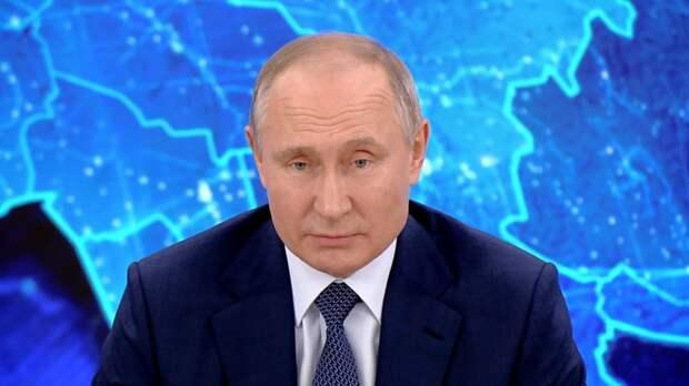 Президент России заработал в 2020 году почти 10 млн рублей
