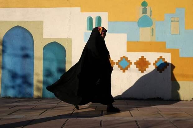 Жительница Ирана