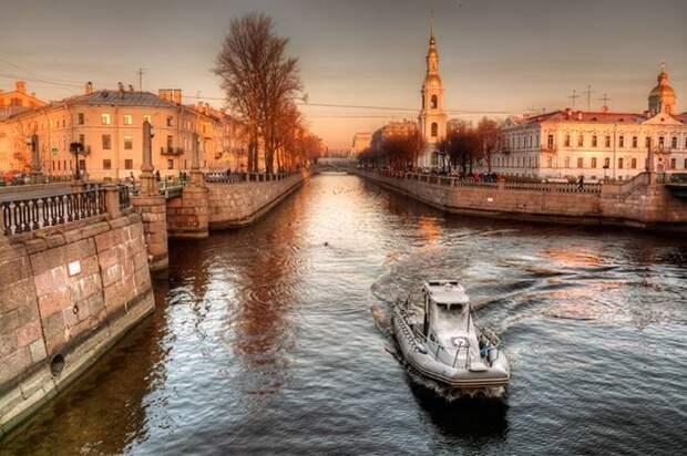 Рассветы и закаты в Санкт-Петербурге