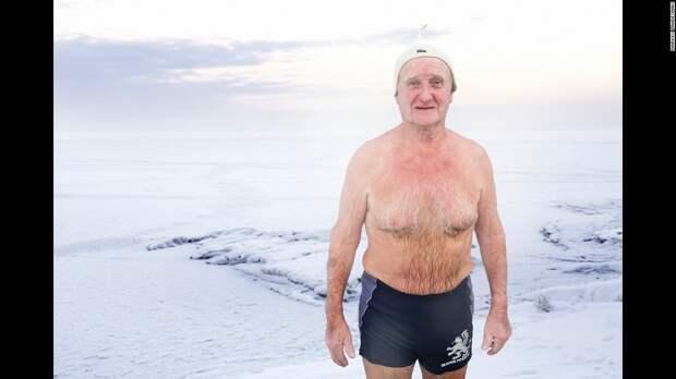Зимние заплывы в Финляндии