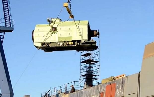 Россия полностью «импортозаместила» двигатели для военных кораблей