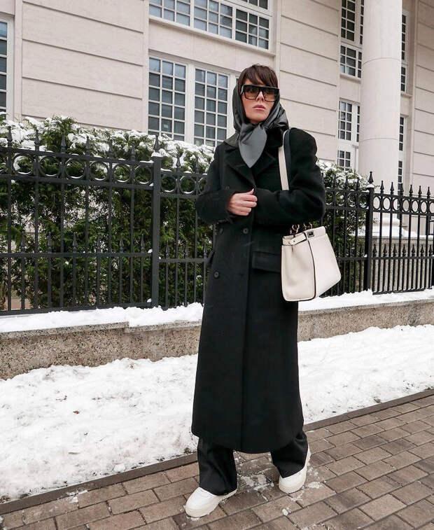 Выбираем классическое пальто на весну 2021 на одной модели. Цвета, которые прослужат не один год