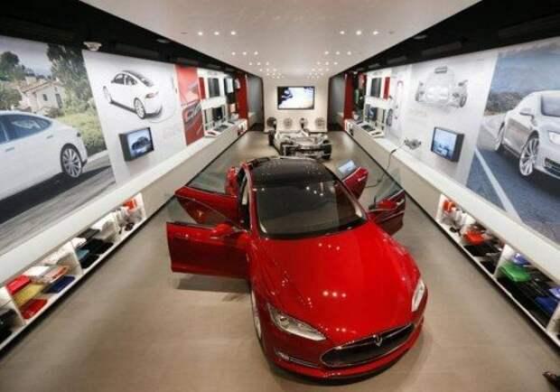 Шоурум Tesla в Далласе