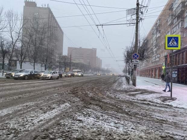 Первый бой со снегом для Шестакова