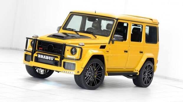 Brabus-такси: желтый Mercedes-AMG G63 готов «бомбить» по автобанам