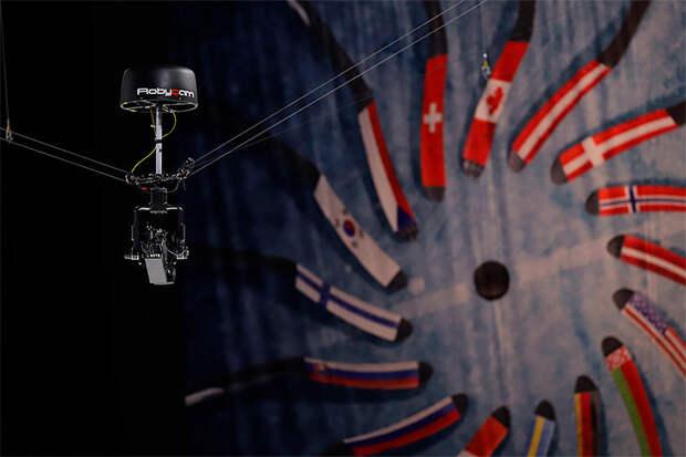 Оснастку для камеры-паука, которой снимают спорт по всему миру, делают в Москве и Калуге. Этой компанией можно гордиться.