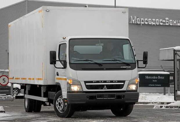 Грузовик Mitsubishi Fuso Canter: изменения «японца» в России