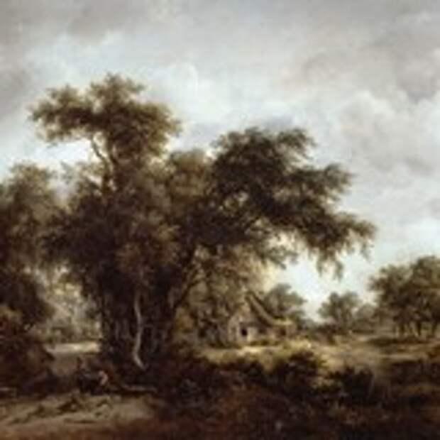 Пейзаж с фермой