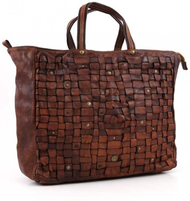 Крутейшая фактура сумки из кожи