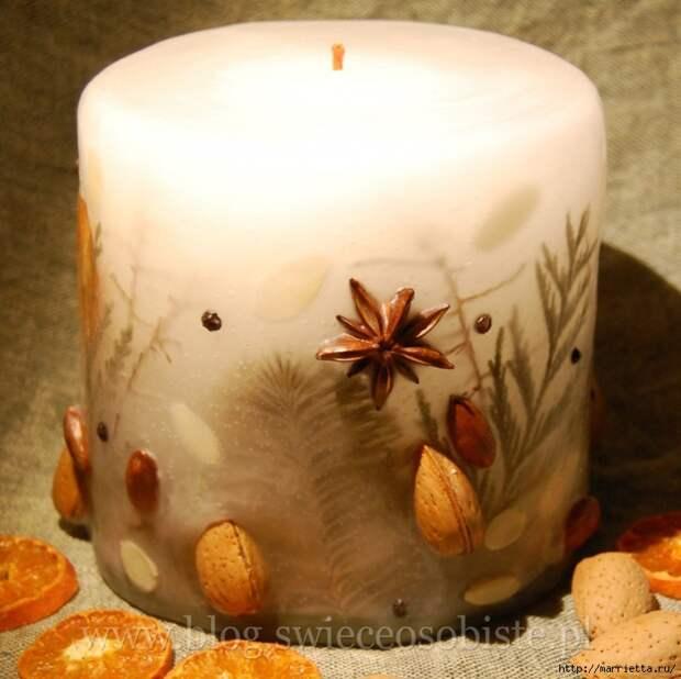 цветочные свечи ручной работы (34) (700x698, 288Kb)