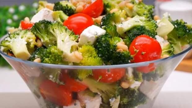 Всего 4 ингредиенты в составе - салат без майонеза «Милена»