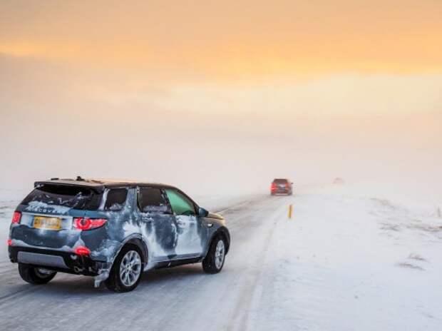 Land Rover Discovery Sport: против ветра