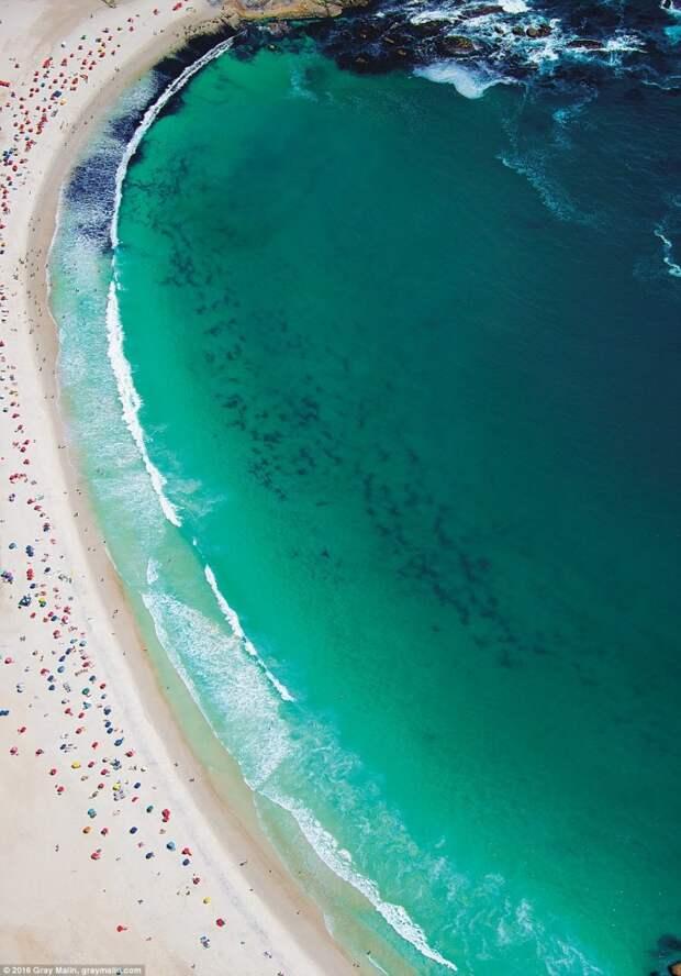 Самые красивые пляжи мира с высоты птичьего полёта