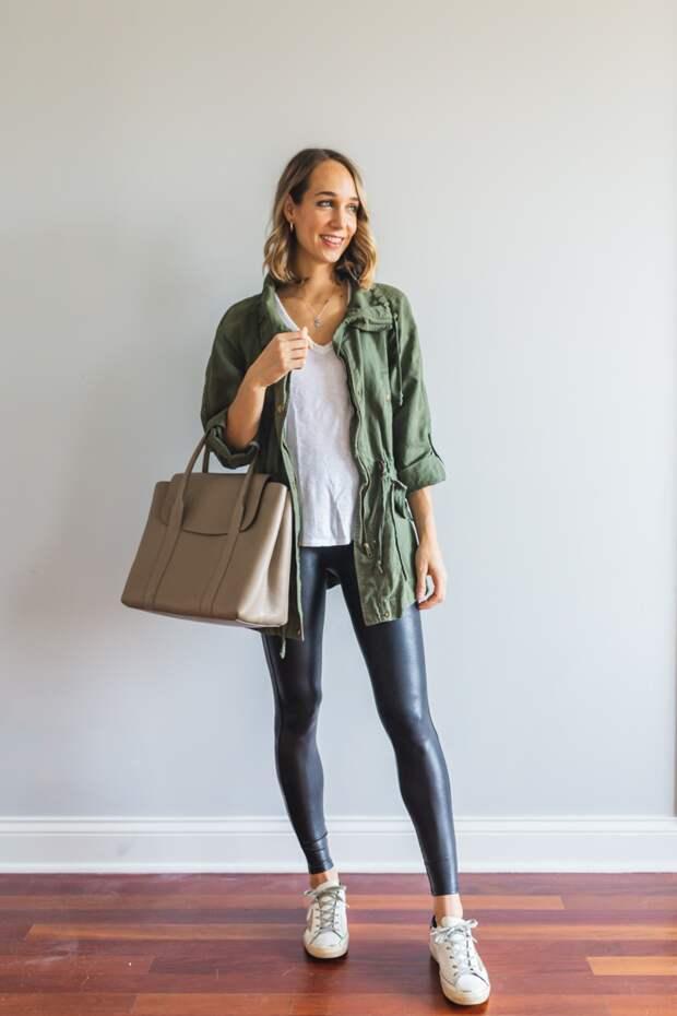 Что носить с легинсами: 6 вещей, которые совсем не подходят и чем их заменить