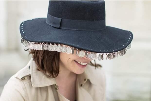 Шляпа с монетками (Diy)