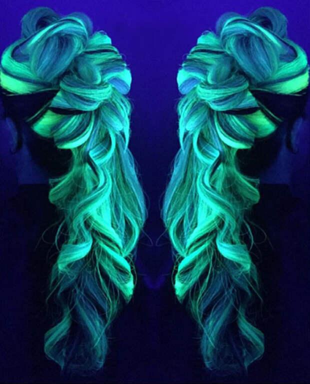 5.  вечеринка, волосы, краска для волос