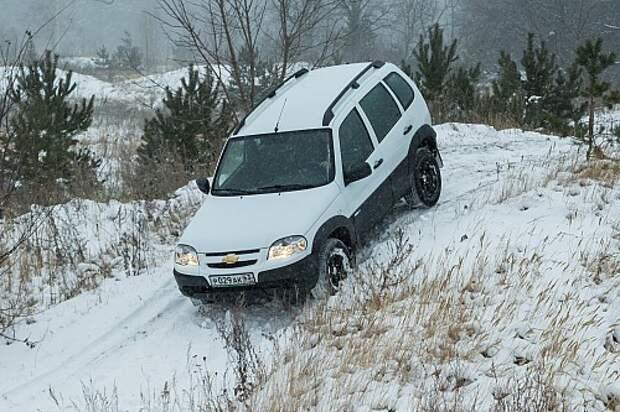 Chevrolet Niva Winter Edition: у природы нет плохой погоды