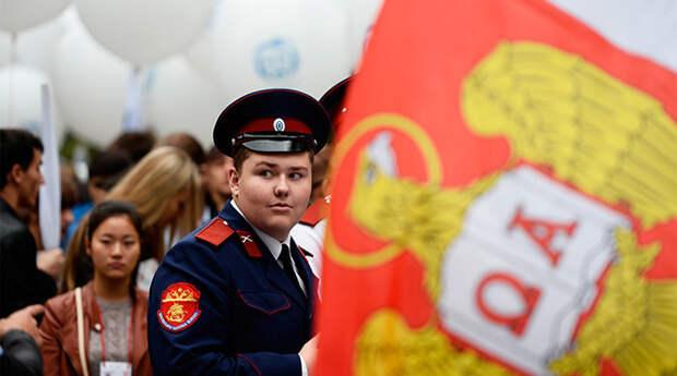 Как прошел парад студентов в Москве