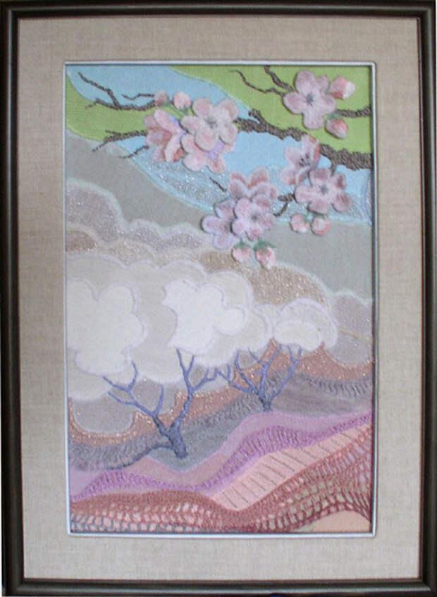 Чарующие картины, написанные лоскутами и мехом