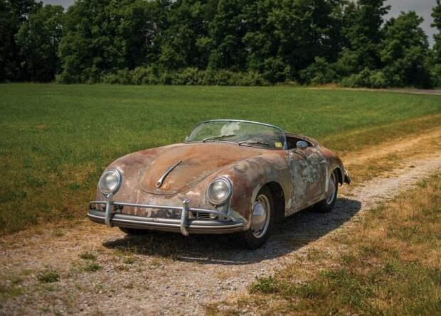 """Автомобиль будет продан на аукционе RM Sothebys 27 октября в Аталанте. Porsche продается как """"отличный проект для восстановления"""". porsche, porsche 356, авто, автоаукцион, автомобили, аукцион, олдтаймер, ретро авто"""