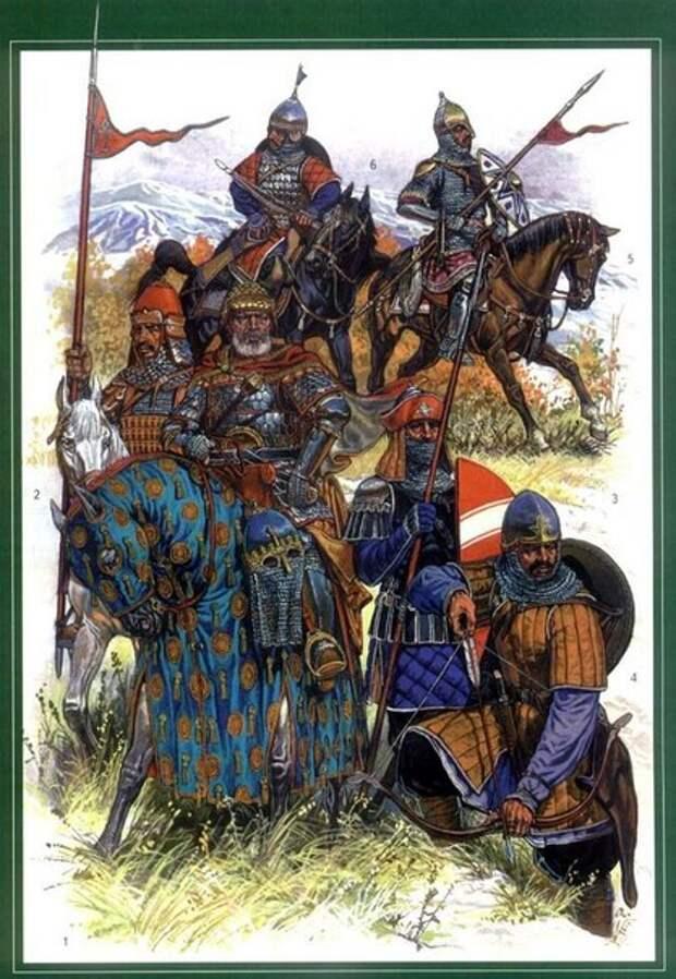 Армяне в золотоордынских городах Поволжья.