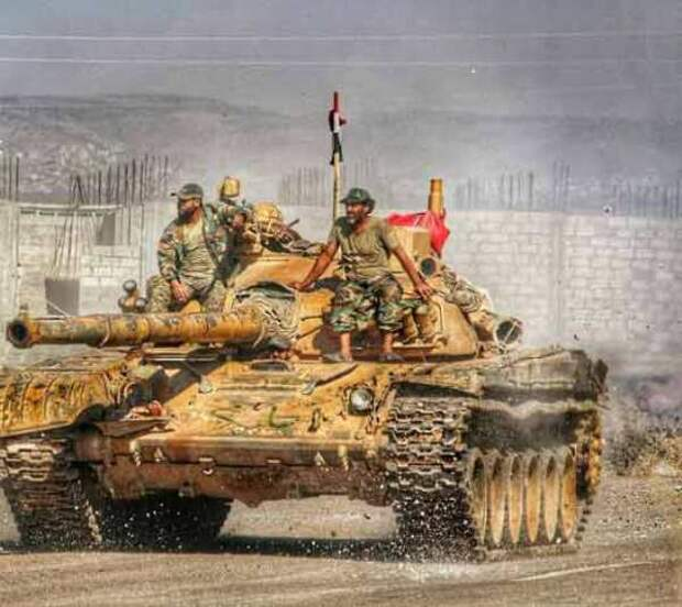 Сирийская армия установила контроль над регионом Ляджат кюгу отДамаска