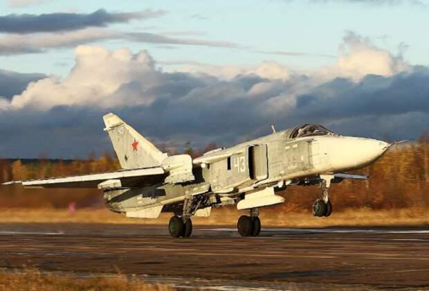 """Су-24 - гроза американских """"дональдов куков"""" (фото из открытых источников)"""