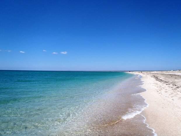 Фантастические пляжи Беляуса крым, отдых, природа