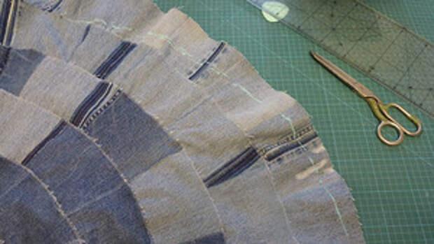 Джинсовая юбка7