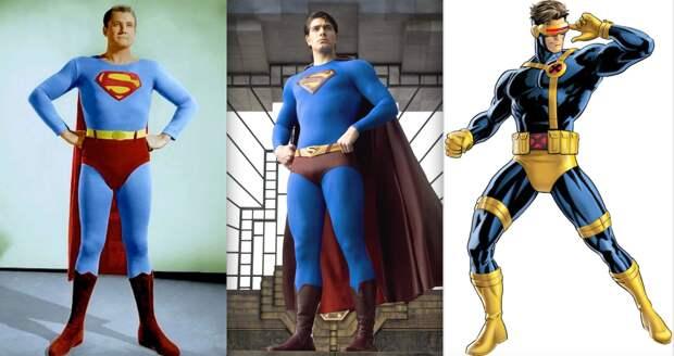 Почему американские супергерои носят трусы поверх колготок?